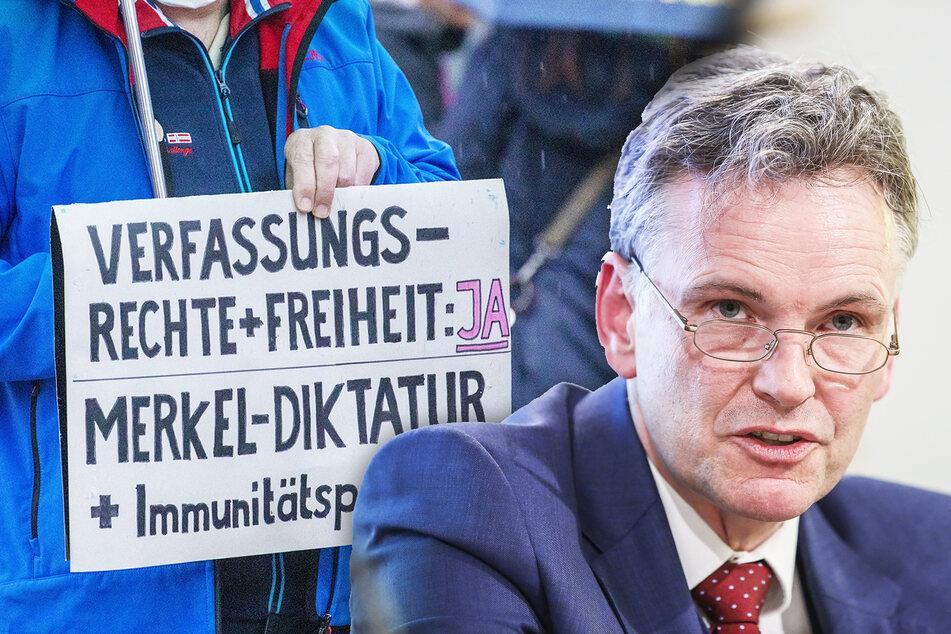 Sachsens Verfassungsschützer warnen vor Corona-Fake-News