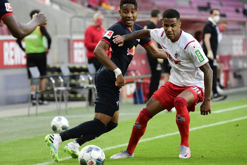 Ismail Jakobs (21, rechts) wird in der neuen Saison für den französischen AS Monaco spielen. Er unterschrieb einen Vertrag bis 2026.