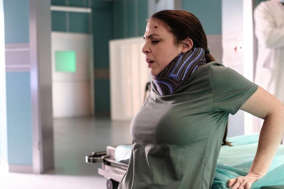 Arzu Ritter ist in der neuen Folge endlich ihren Halo-Fixateur los. Dafür tun sich allerdings ganz andere Probleme auf.