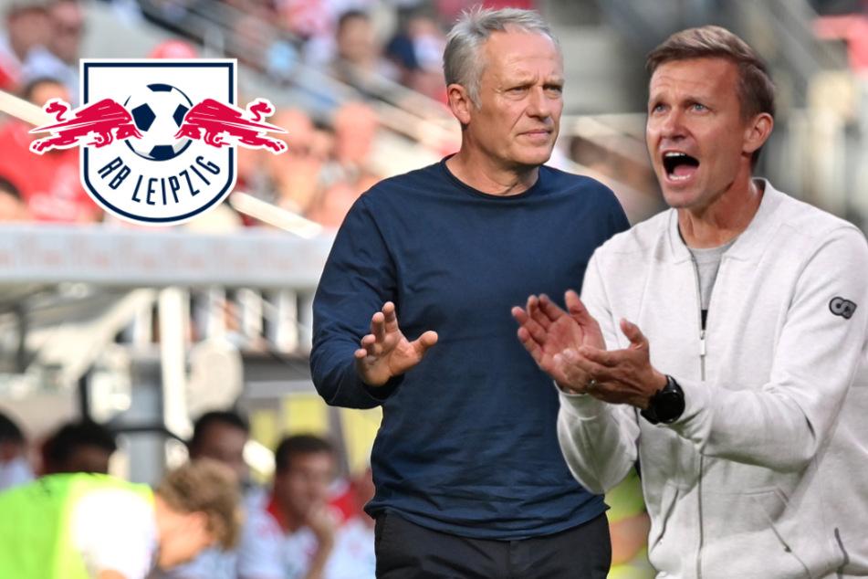"""RB-Leipzig-Coach Marsch mit Respekt vor Freiburg: """"Streich ist ein Super-Trainer"""""""