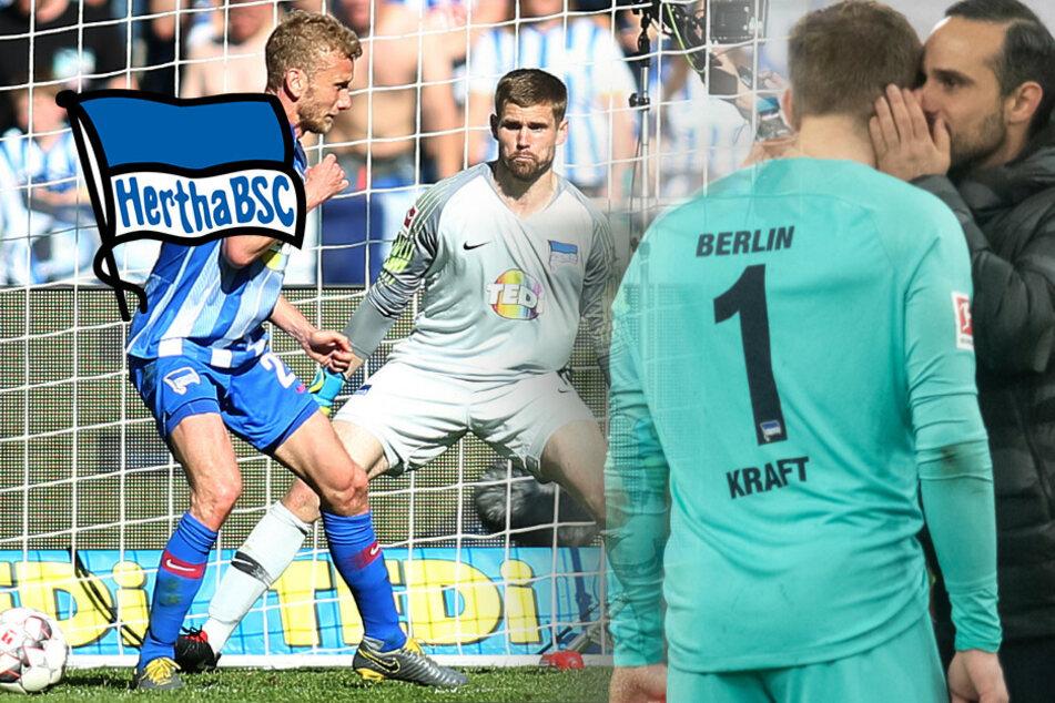 Hertha-Keeper Kraft beendet mit 31 Jahren seine Karriere!
