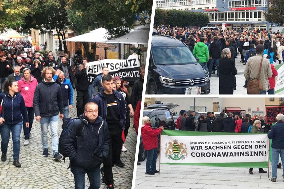 Rechtsrapperin lockt hunderte Pandemie-Leugner auf Bautzens Straßen