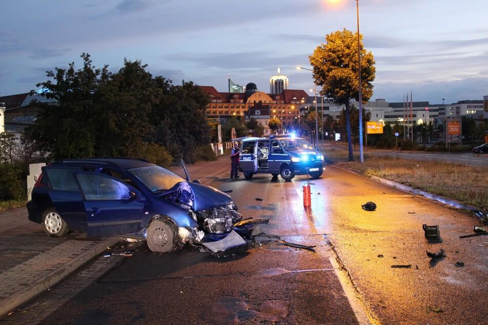 Das Unfallauto war von der Fahrbahn abgekommen.