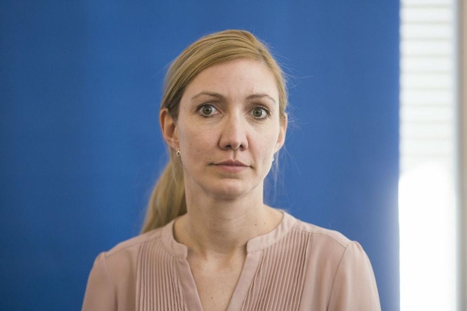 Die Frankfurter Virologin Sandra Ciesek (43).