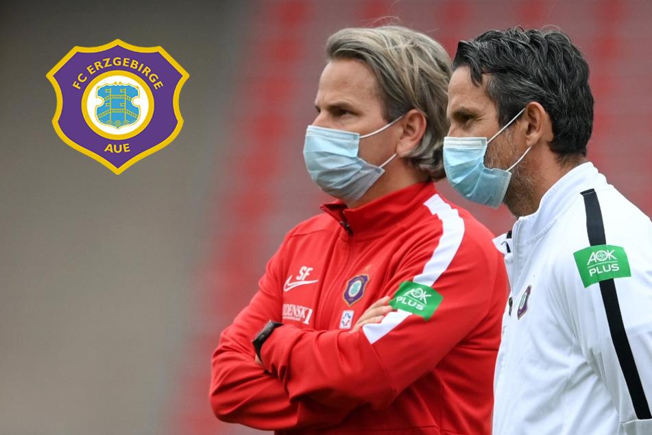 Aue-Trainer Schuster meldet sich krank: Hensel übernimmt vorerst