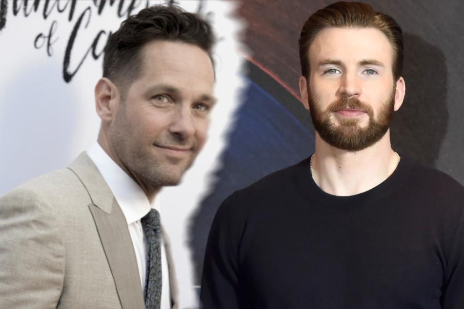 """Marvel-Stars Paul Rudd und Chris Evans im Gespräch:""""Wie groß ist dein Penis?"""""""