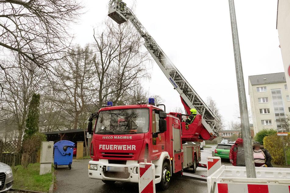Aktuelle Meldungen von heute zu den Feuerwehreinsätzen in Chemnitz. © Haertelpress