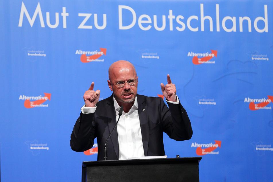 Andreas Kalbitz (47), ein vom Verfassungsschutz beobachteter Rechtsextremist, soll in Burgstädt sprechen.