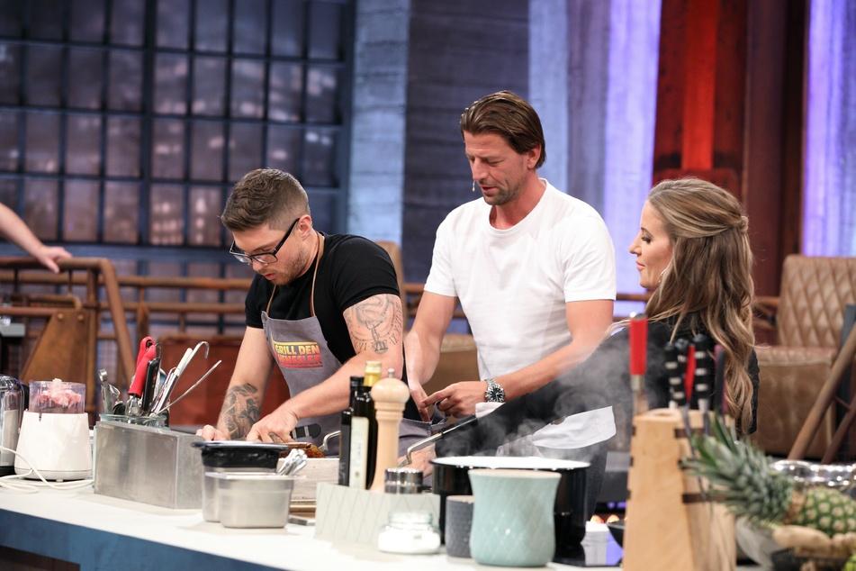 """Tinder-Talk und Jury-Beef bei """"Grill den Henssler"""""""