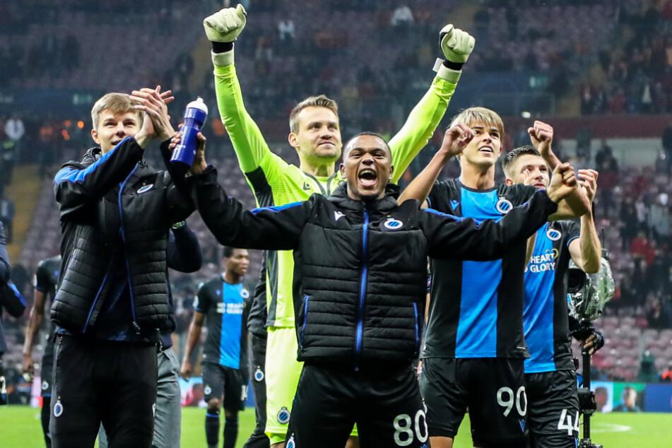 Club Brügge führt die Liga mit 15 Punkten Vorsprung an.