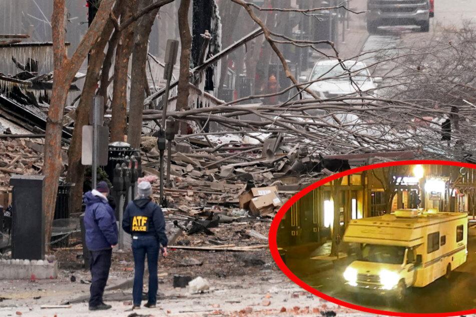 Wurde dieses Wohnmobil gezielt als Autobombe eingesetzt?