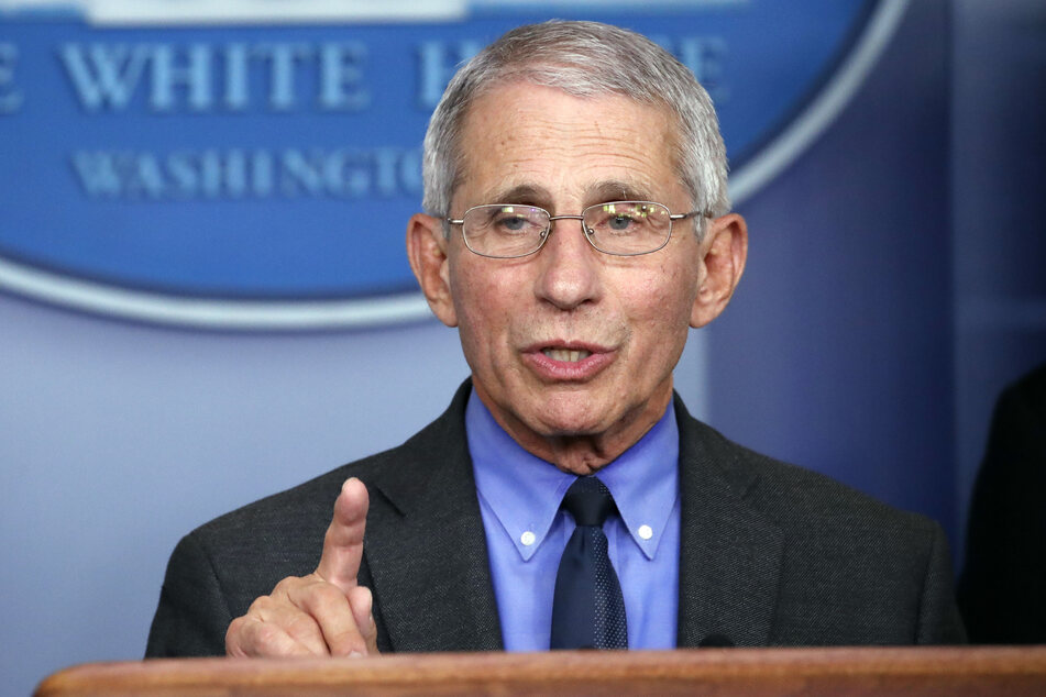 Anthony Fauci, Direktor des Nationalen Instituts für Infektionskrankheiten in den USA.