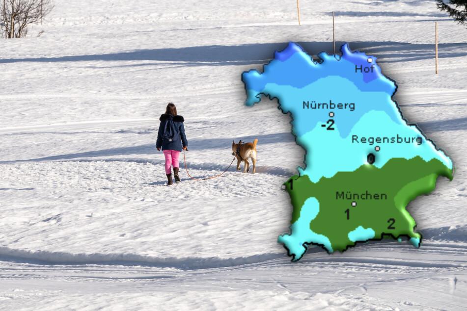 Jetzt kommt der Schnee auch wieder nach Bayern: Hier fällt sogar die Schule aus