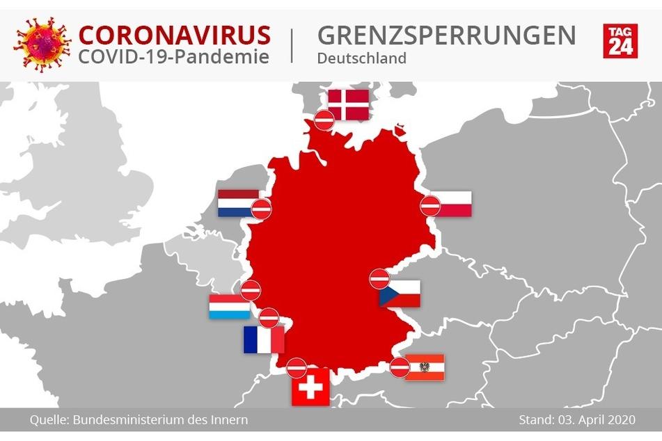 Ausländer aus Österreich, Frankreich, der Schweiz, Luxemburg und Dänemark dürfen schon jetzt nicht mehr ins Land. Polen, Tschechien, die Niederlande lassen Deutsche zudem nicht einreisen. In der kommenden Woche könnte die Grenze zu Belgien ebenfalls schließen.