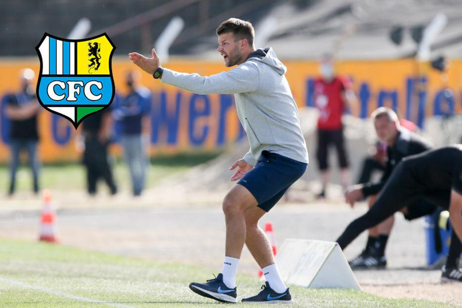 """CFC-Coach Berlinski: """"Gegen den BFC muss vieles besser werden!"""""""