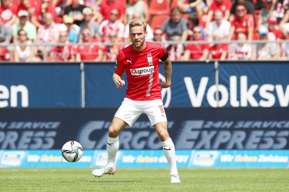 FSV-Verteidiger Nils Butzen (28) bekam zuletzt Lob vom Trainer und soll am Sonnabend wieder für Robustheit in der Defensive sorgen.