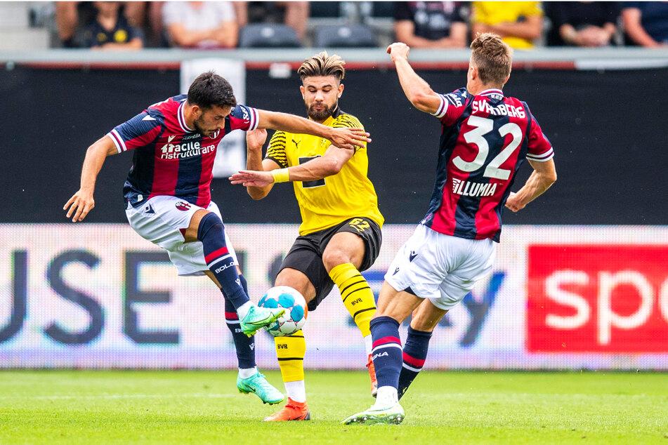 Antonios Papadopoulos (21, M.) hat alles gegeben, um die Chance zu nutzen, sich in Borussia Dortmunds Profikader festzubeißen.