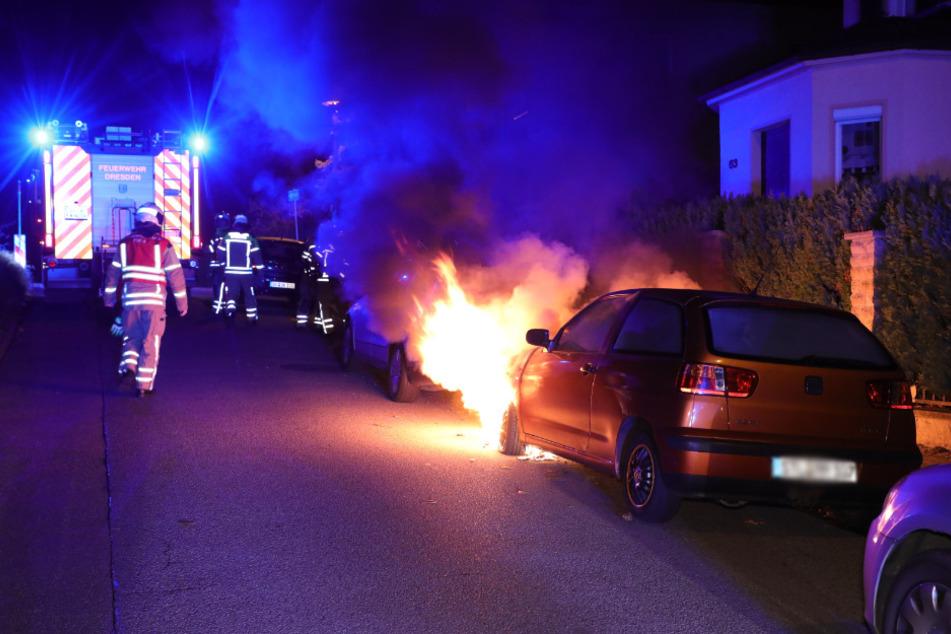 Die Kameraden der Feuerwehr hatten am späten Abend bis in die Nacht allerhand zu tun.
