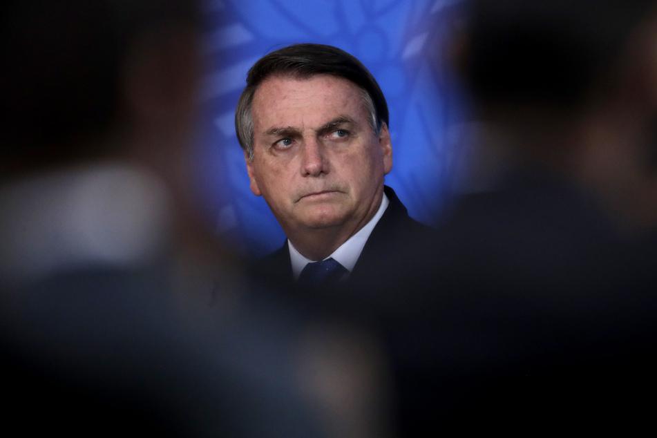"""Jair Bolsonaro, der Präsident von Brasilien, verglich das Coronavirus häufig mit einer """"leichte Grippe""""."""