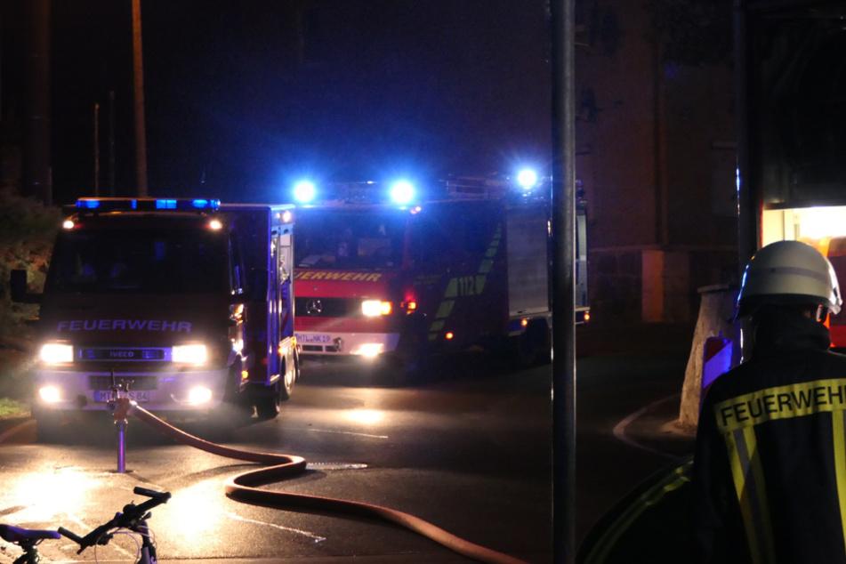 Mehrere Feuerwehren aus der Umgebung mussten anrücken.