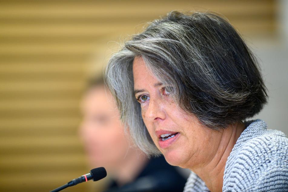 Sachsen-Anhalts Innenministerin Tamara Zieschang (51, CDU).