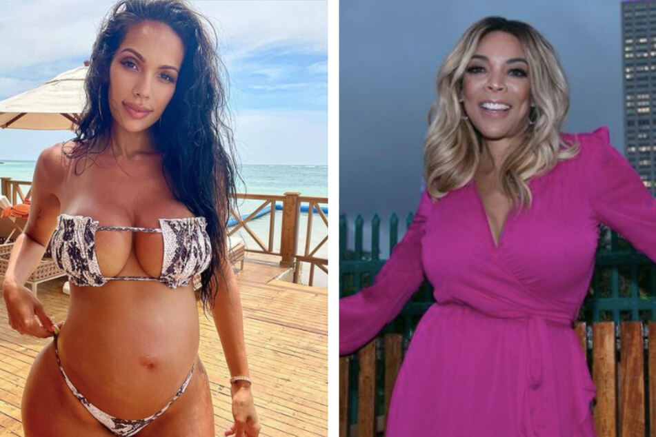 Erica Mena (l.) fired shots at Wendy Williams (r.) after the host criticized the reality star's second pregnancy.