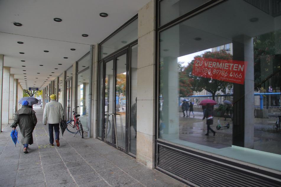 Aktuell leidet vor allem die einstige Geschäftsmeile an der Wilsdruffer Straße.