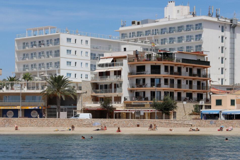 Wohnviertel in Palma de Mallorca wegen Corona abgeriegelt