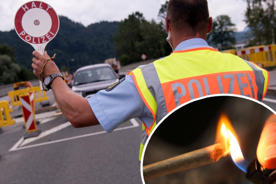 15 Joints in der Brusttasche! Polizei macht an Rastplatz guten Fang