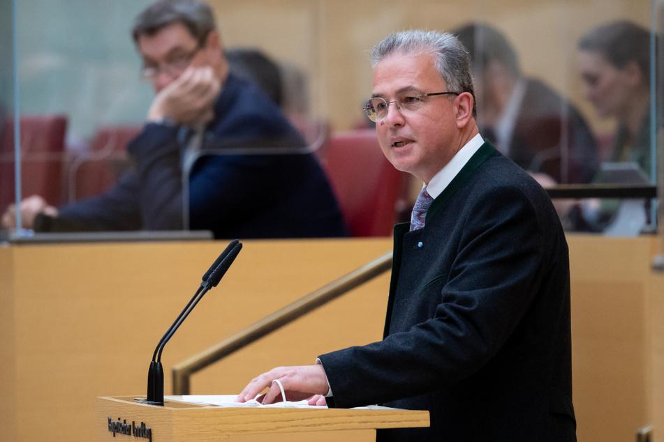 Florian Streibl (58), Fraktionsvorsitzender der bayerischen Freien Wähler.