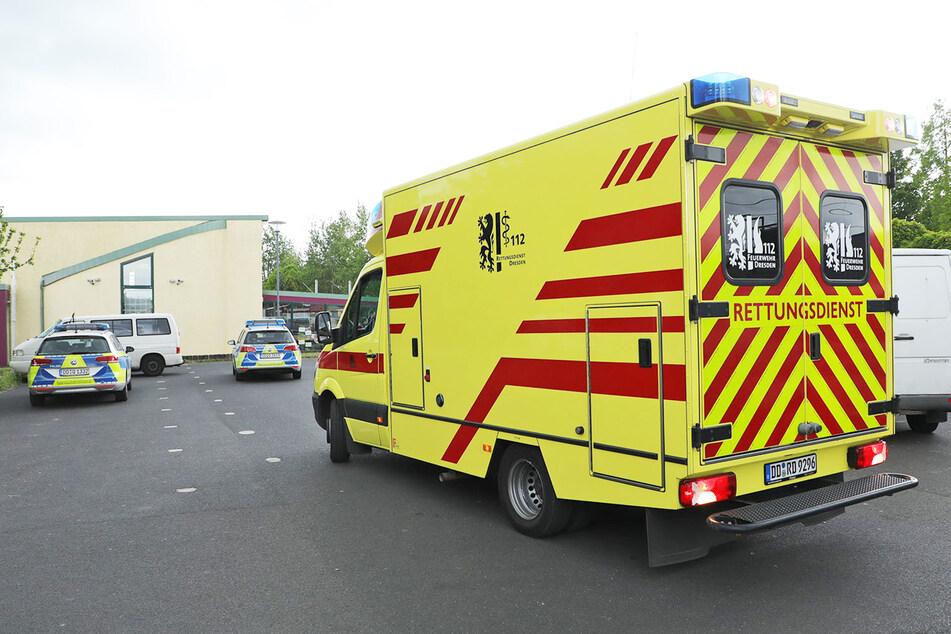 Für den verletzten Afghanen wurde ein Rettungswagen gerufen.