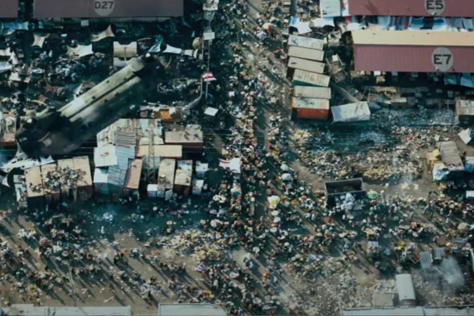 Infizierte werden in Lager gesperrt, wo sie unter katastrophalen Bedingungen leben müssen.