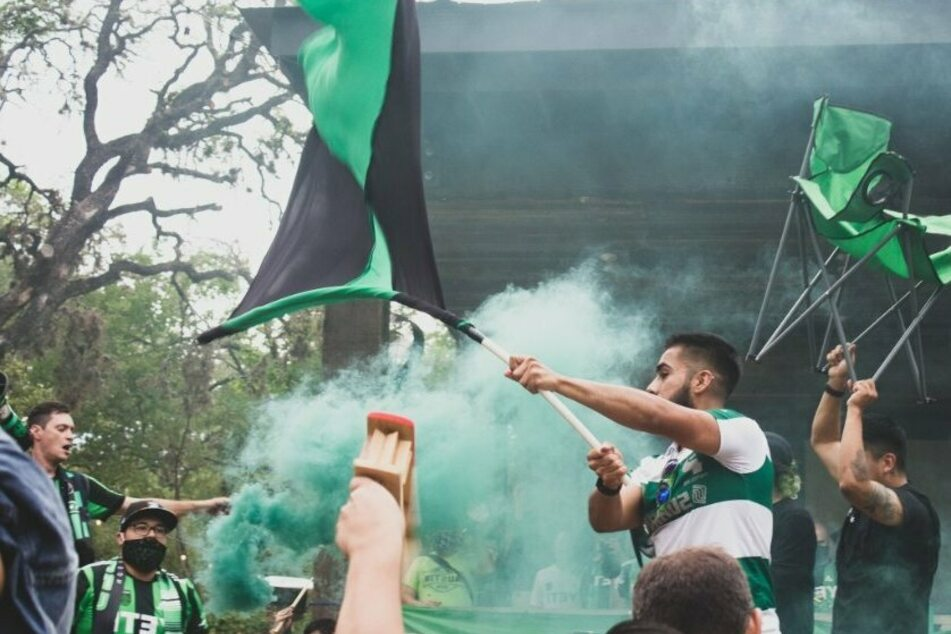 Cheers, chants, and deck chairs: Austin FC's rowdy fans are ready for their first ever home game