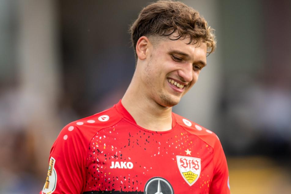 Mateo Klimowicz (21) wartet auf seinen Durchbruch beim VfB.