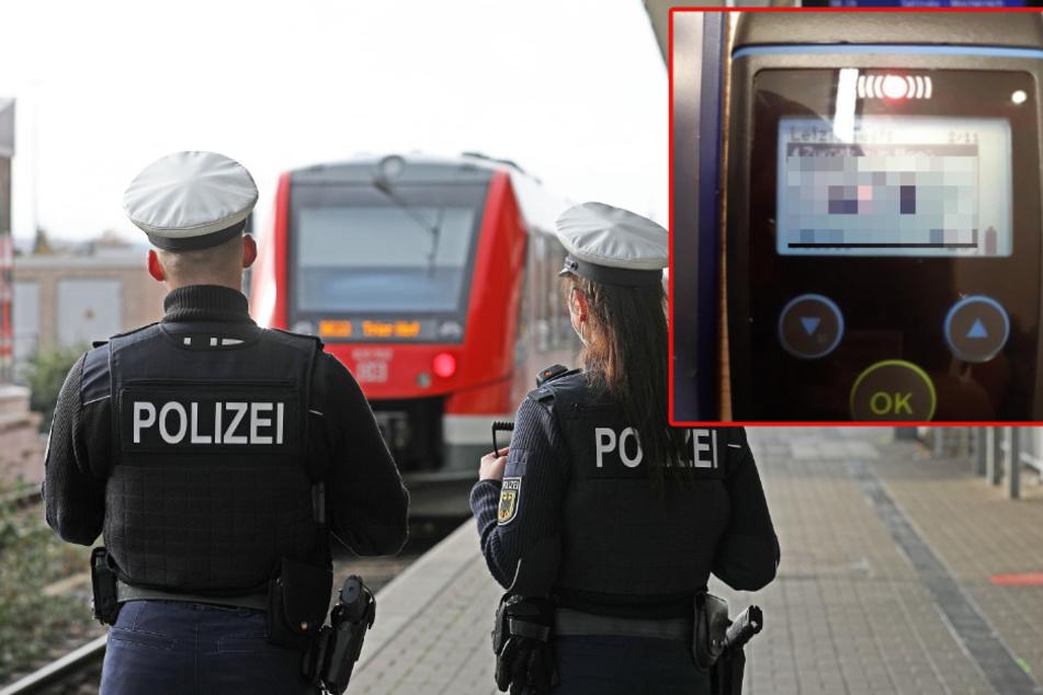 Völlig stramm auf Reisen! Zuggast pustet lebensgefährlichen Promille-Wert