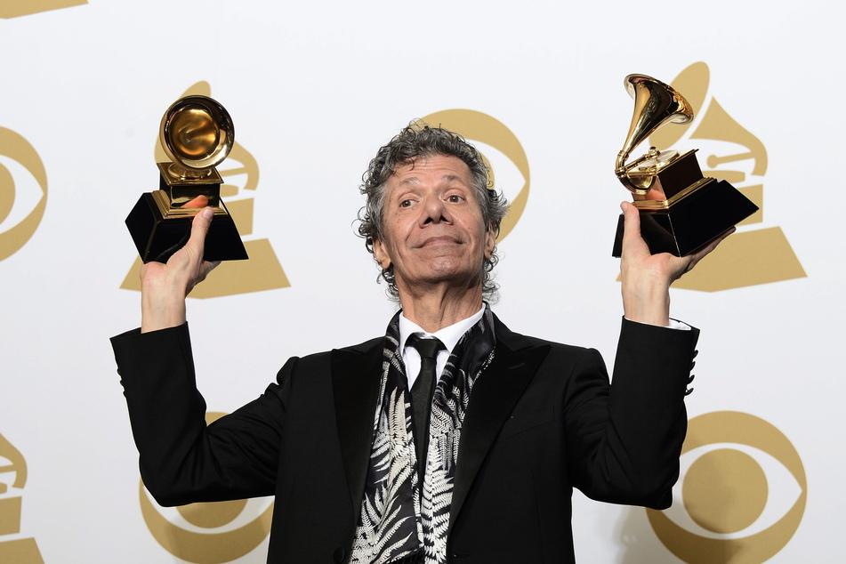"""Der amerikanische Musiker Chick Corea wurde bei den 57. jährlichen Grammy Awards im Staples Center mit den Preisen für """"Best Improvised Jazz Solo"""" und """"Best Jazz Instrumental Album"""" ausgezeichnet."""
