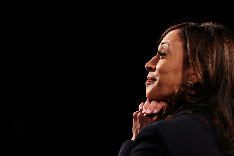 Many Twitter users think Kamala Harris looks washed out in her Vogue cover photos.