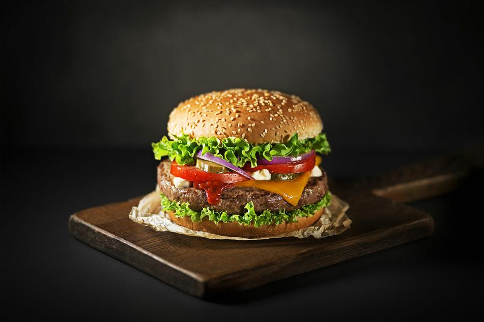 Gegen einen leckeren Burger haben scheinbar auch Möwen nichts einzuwenden.