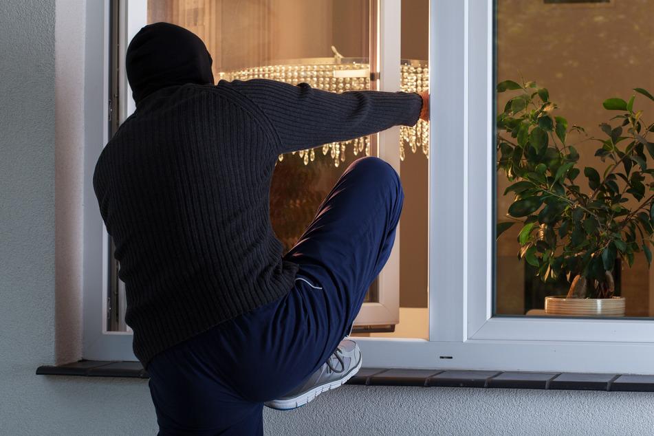Bewohner wird von zwei Einbrechern überrascht und reagiert genau richtig