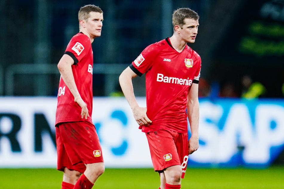Sven (32, l.) und Lars Bender (32) beenden in diesem Sommer ihre erstklassigen Karrieren.