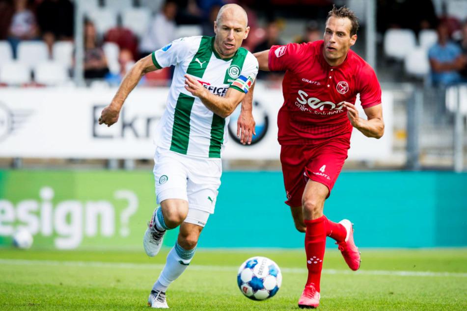 Arjen Robben (36) ist nach einem Jahr Pause langsam auf dem Weg zurück zu alter Form, Fitness und Klasse. Erreicht er diese, ist er für den FC Groningen eine enorme Verstärkung.
