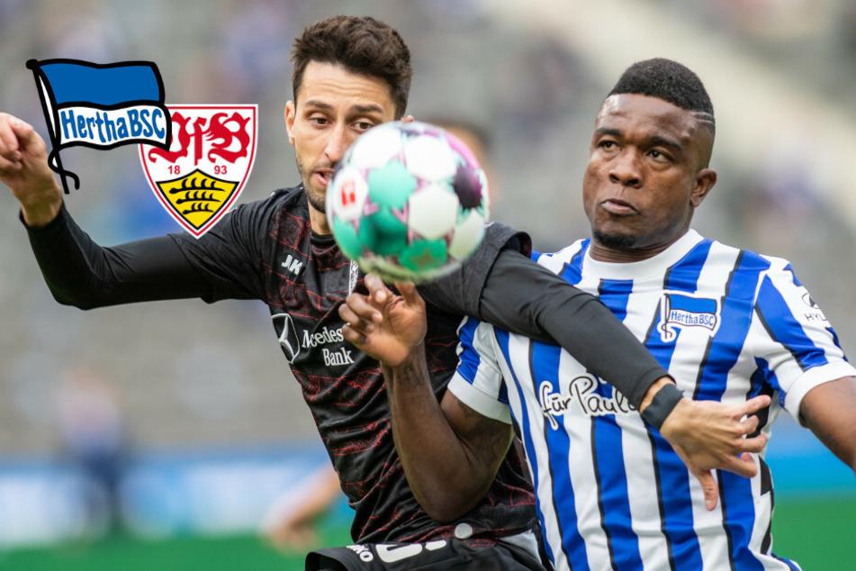 Hertha ohne Chance: Müde Berliner verlieren gegen Stuttgart