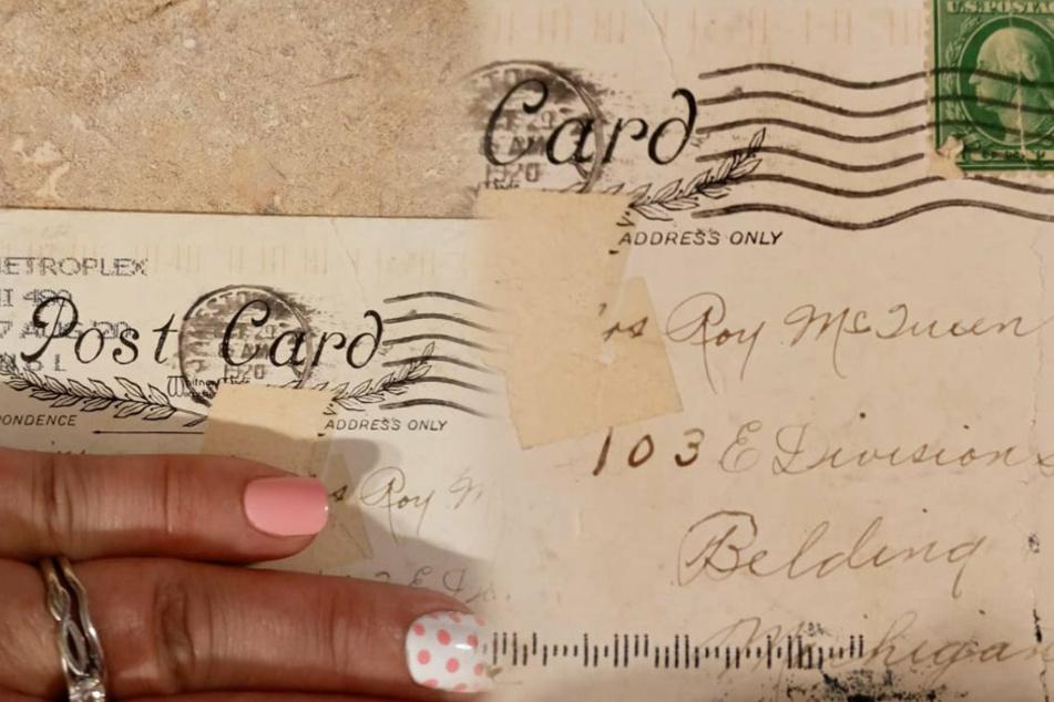 Diese Postkarte hatte Brittany erhalten.