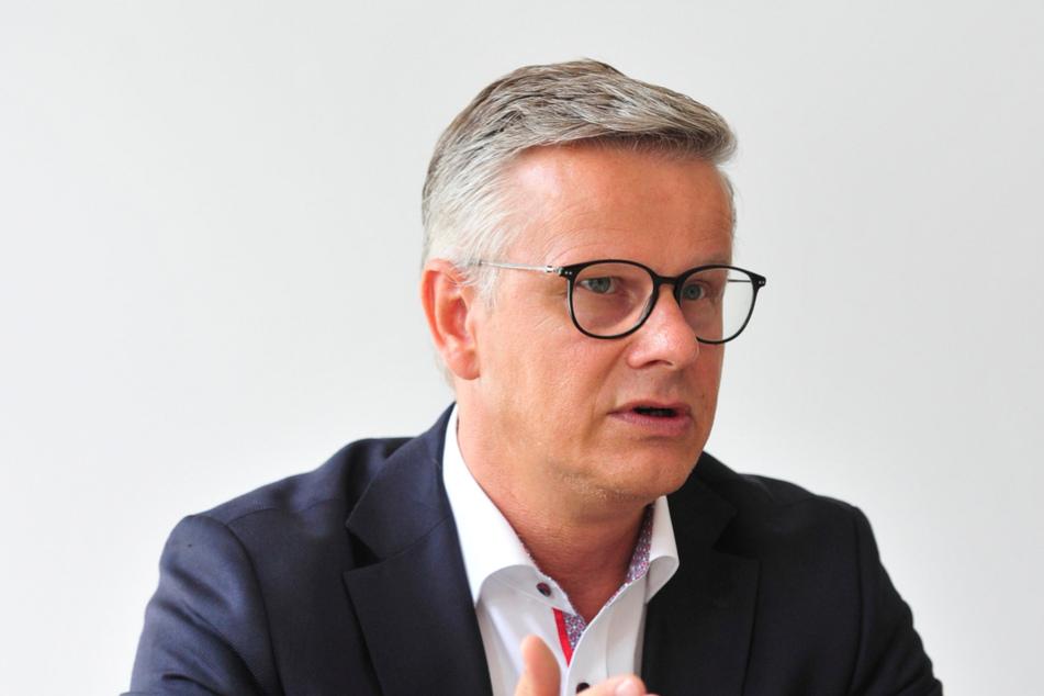 Rathaus-Sprecher Matthias Nowak (51) erklärt, dass die CWE 2020/2021 alle gestellten Aufgaben erledigt habe.