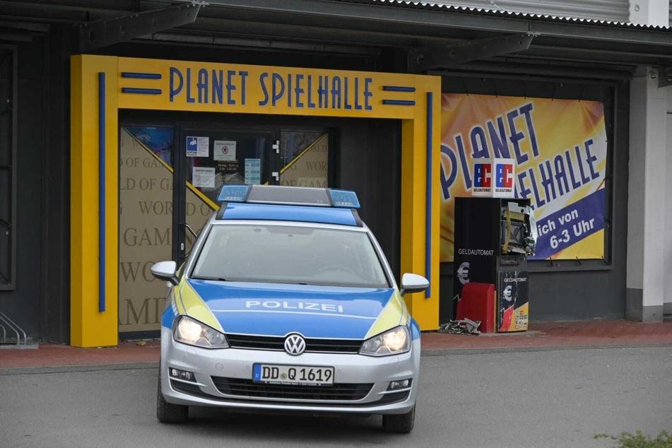 Explosion in Stollberg: Geldautomat vor Spielothek gesprengt