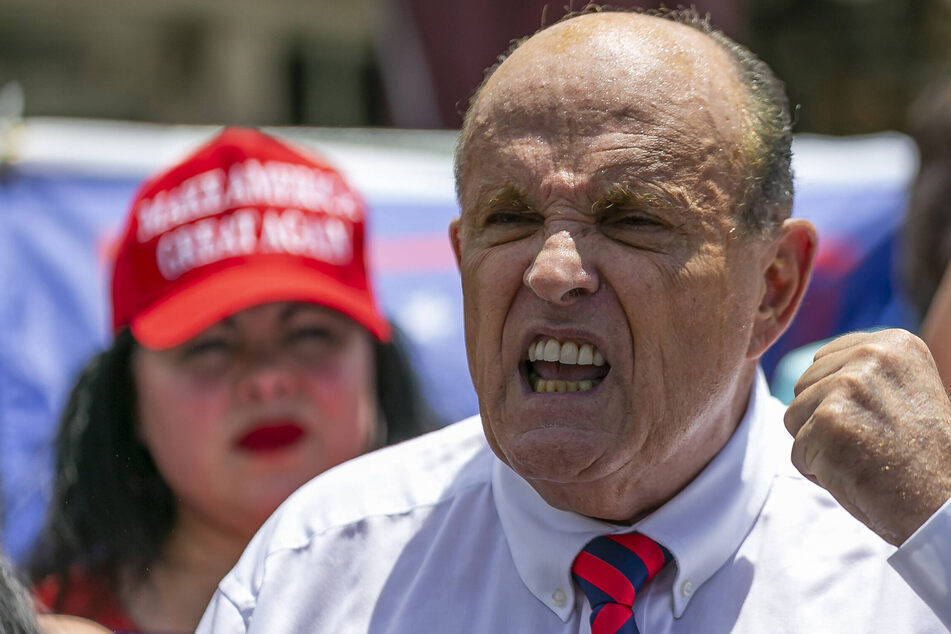 Rudy Giuliani announces new line of work in surprising debut