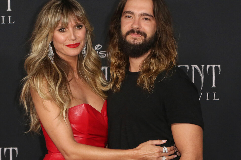 """Heidi mit ihrem Tom auf der Weltpremiere von """"Maleficent: Mistress of Evil"""" in Los Angeles 2019."""