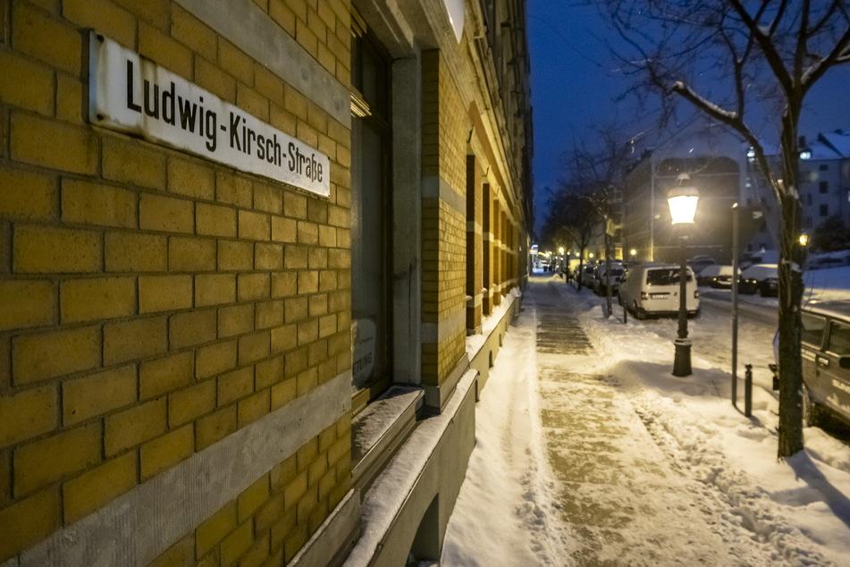 In der Chemnitzer Ludwig-Kirsch-Straße soll eine Frau ein kleines Kätzchen aus dem fünften Stock geworfen haben.