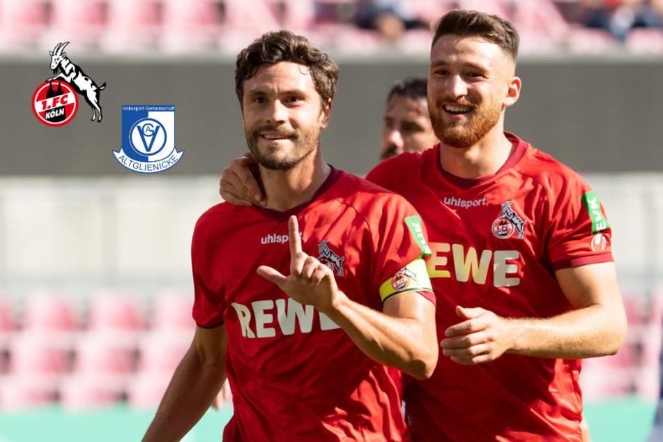 6:0! Kapitän Hector führt den 1. FC Köln zum Pokal-Kantersieg