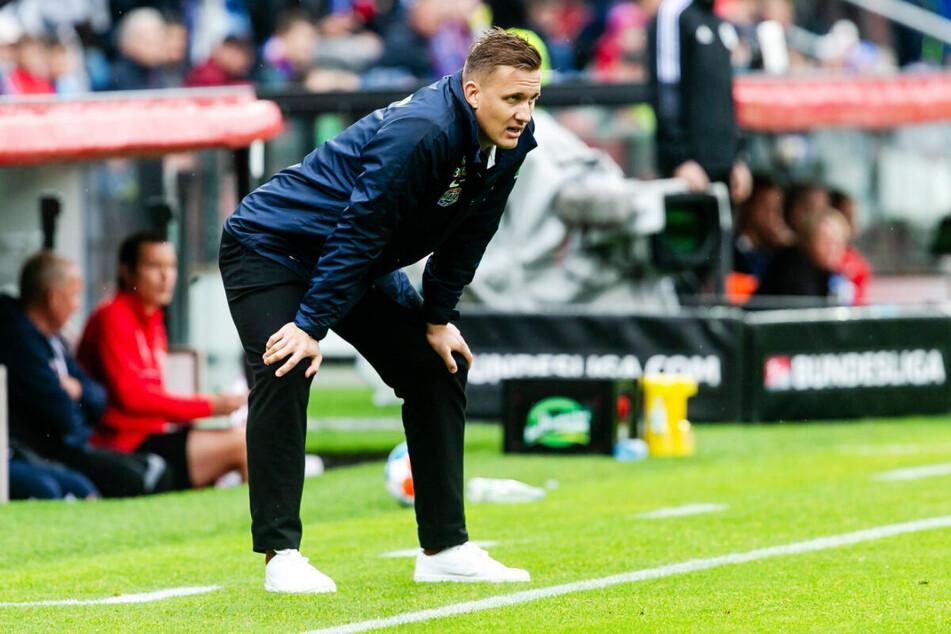 Der Blick geht trotz aller Schwierigkeiten voraus: FCE-Coach Aleksey Shpilevski hat jetzt zwei Wochen Zeit, um seine Truppe in die Spur zu bringen.